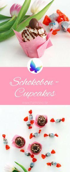 Rezept für Schokobon-Cupcakes