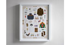 """Art Print Inspired By Famous Props From """"Seinfeld"""" 