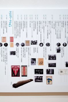 150 Years of Japanese Music Chronology Display | Image 2 of 2