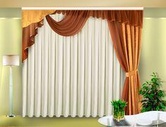 Благородные шторы из вуали
