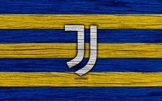 Download wallpapers FC Juventus, 4k, Bianconeri, fan art, Serie A, new logo, Italy, wooden texture, soccer, Juventus new logo, football, Juventus FC #futboljuventus