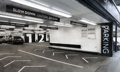 Road Arrows, Parking at 13-17 East 54th Street, Cohen Bros. Realty, Pentagram