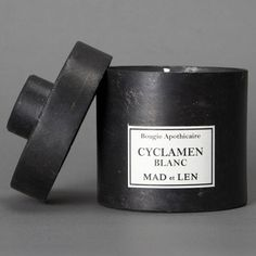 Mad et Len | Cyclamen Blanc Candle | Organic and Hand Poured in the South of France