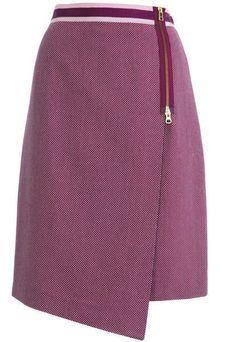 юбка с запахом