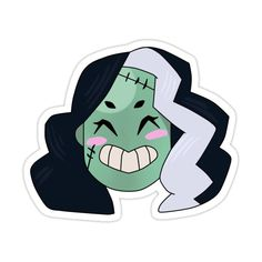 Monster Prom, Face Stickers, Flasks, Laptops, Monsters, Decal, Kiss, Tasty, Water