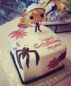 Ideas Birthday Party Man Adult Paisley For 2019 Shared Birthday Parties, Kids Birthday Themes, Birthday Cakes For Men, Cat Birthday, Halloween Birthday, Halloween Party Decor, Gwen Spider, Spider Girl, Boyfriend Birthday Quotes