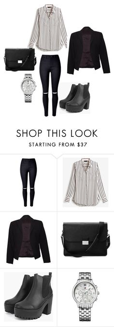 """""""workwowowowork"""" by fashion-classy1 on Polyvore featuring moda, WithChic, White House Black Market, Theory, Aspinal of London y Tommy Hilfiger"""