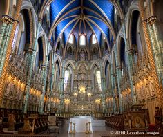 Notre-Dame Cathedral Basilica, Ottawa | The Sanctuary, Notre Dame Cathedral Basilica, Ottawa | Flickr - Photo ...