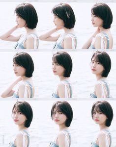 Korean Short Hair Bob, Iu Short Hair, Short Hair Lengths, Short Hair Styles For Round Faces, Very Short Hair, Short Hair Styles Easy, Short Hair Cuts, Taeyeon Short Hair, Korean Short Hairstyle