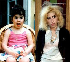Amy Winehouse in childhood