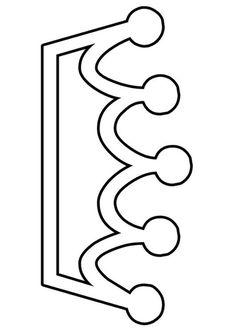 Página para colorir coroa. As crianças aprendem sobre coroa enquanto colorem | Imagens para a escola e educação - img 21959. Clipart Baby, Felt Patterns, Scroll Saw Patterns, Coloring Sheets, Coloring Pages, Castle Crafts, Diy And Crafts, Crafts For Kids, Children's Church Crafts