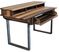 Studio Desk for Audio / Video / Film / Graphic Design, Small 49key / 64w X 32d X modern-computer-furniture