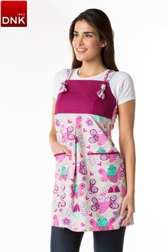 Pichi maestra papillons Teacher Apron, Nurse Costume, Sewing Aprons, Dress Codes, Color Combos, Smocking, Couture, Female, Skirts