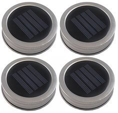 Spending big time to shop solar mason jar lids?Trying to find a way to choose the best solar mason jar lids?Here are the top best lis Mason Jar Solar Lights, Mason Jar Lighting, Jar Lights, Mini Solar Lights, Bottle Lights, Solar Light Crafts, Diy Solar, Mason Jar Projects, Mason Jar Crafts