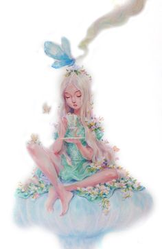 "lohrien: "" Alice in Wonderland by Kei Acedera (part lI) instagram l shop """