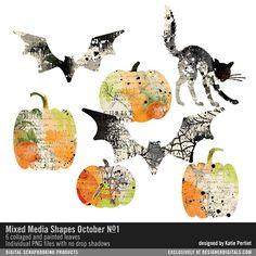 Mixed+Media+Shapes+October+No.+01