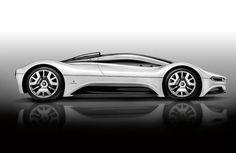 The beautiful Maserati Birdcage 75 prototype