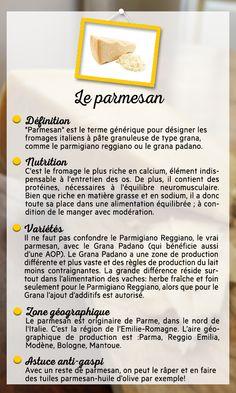 PRODUIT DU JOUR : LE PARMESAN Aujourd'hui on repart en Italie pour vous parler d'un fromage...le parmesan ! Farida et ses invités vous diront tout sur ce produit !