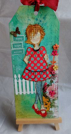 Just Remember to Breathe: Prima doll tags