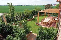 Umsetzung eines Hausgartens im ländlichen Bereich