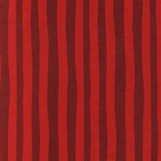 Crimson fabric - Dr Seuss Scarlet Stripes From Robert Kaufman 1 by StitchStashDiva, $9.25