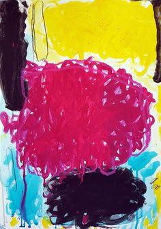 Original Abstract Painting by Bea Mahan Pencil Painting, Painting & Drawing, Abstract Drawings, Easy Drawings, Watercolor And Ink, Watercolor Paintings, Colorful Abstract Art, Small Art, Abstract Expressionism
