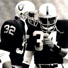 Marcus and Bo - Two of my all-time favorite Raiders and running backs!