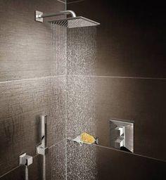 Shower Design Styles by GROHE: Cosmopolitan – Minimalist Shower Heads | Rainshower® Systems