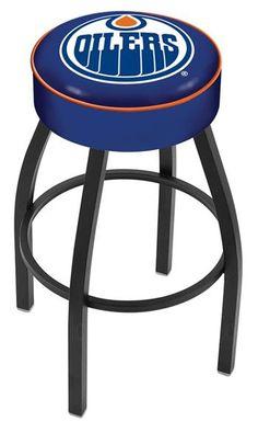 "Edmonton Oilers 4"" Seat Bar Stool"