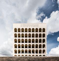 Marcello Piacentini / Palazzo della Civiltà Italiana / Rome / 1943