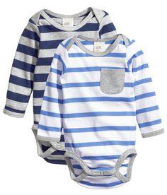 H&M Baby Boy Long sleeve onesie