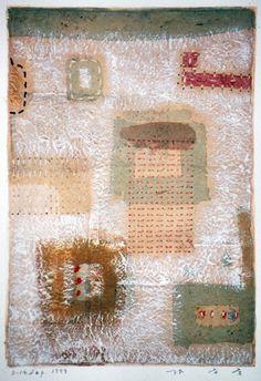 D-14.Sep.1999paper making, painting, collage林孝彦 HAYASHI Takahiko