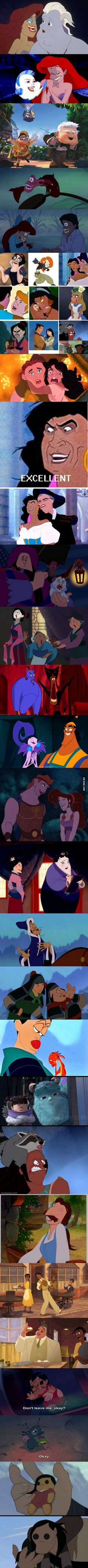 Funny pictures about Hilarious Disney Characters Face-Swaps. Oh, and cool pics about Hilarious Disney Characters Face-Swaps. Also, Hilarious Disney Characters Face-Swaps photos. Disney Pixar, Disney Memes, Disney And Dreamworks, Disney Characters, Funny Disney, Disney Crossovers, Disney Love, Disney Magic, Disney Stuff