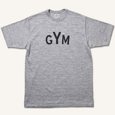 T-SHIRTS GYM - i'm sure this would make me want to work out more