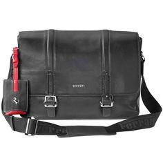 FERRARI STORE |Ferrari Messenger Bag available now on store.ferrari.com #ferraristore #bag #ferrari