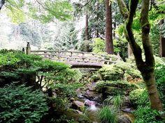 Japanese gardens at Washington Park, Portland