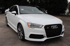 2016 Audi S3 2.0T Premium Plus Sedan - Ibis white - $50,395 like the S3 better than the A3