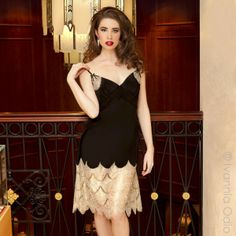 Shell Belle Couture Great Gatsby Slip Dress