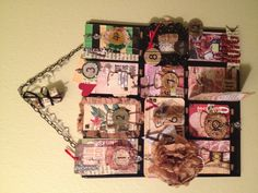 Finally completed my 7 Gypsies receipt holder project!