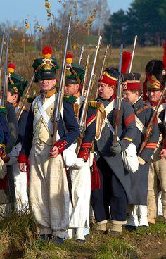 Французская пехота.