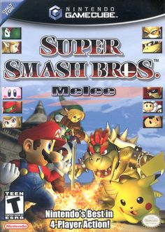 Today in gaming history  May 24, 2002 Nintendo GameCube Smash the European world with the release of Super Smash Bros.: Melee in Switzerland, France, Germany, Greece, Spain, Belgium, The Netherlands, Italy, United Kingdom and Austria.  Game On! Video Game Depot  * * * TRIVIA * * *  Super Smash Bros.: Melee was released in the USA on December 2, 2001…