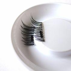 Magnetic Eyelashes 4 Pieces/ Lot Permanent Magnetic Magnet Eyelashes Small Magnet Fake Magnetic Eyelash Extension False Eyelash