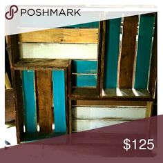 """Selling this """"Cody's Country Decor"""" Wall shelving on Poshmark! My username is: m1dl0th1an. #shopmycloset #poshmark #fashion #shopping #style #forsale #Cody's Country Decor  #Other"""