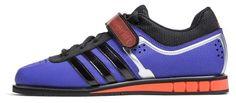 My new kicks!!   Adidas POWERLIFT.2 black/blue