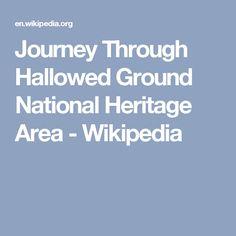 Journey Through Hallowed Ground National Heritage Area - Wikipedia