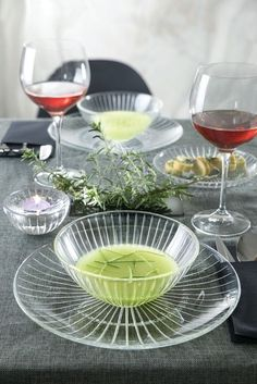 The Sunbeam Collection Crystal16 Piece Dinnerware Set Lead Free #LorrenHomeTrends