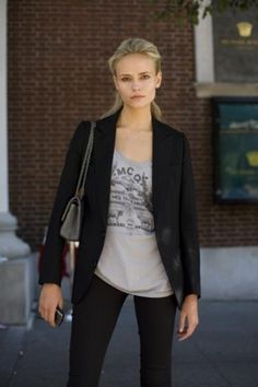 Add a Black Blazer to oomph your look!