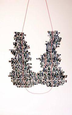 EDELPLAST by Billie Van Nieuwenhuyzen - Transforming cable waste into jewellery