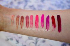 Beautywithemilyfox: NYX tereyağı glosses + dudak rengi renkleri!