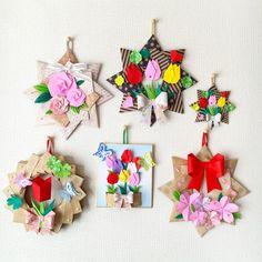 Origami Flowers Tutorial, Flower Tutorial, Diy And Crafts, Paper Crafts, Japanese Origami, Art N Craft, Origami Paper, Diy Cards, Birthday Cards